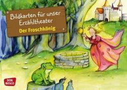 Cover-Bild zu Kamishibai Bildkartenset Der Froschkönig von Lefin, Petra (Illustr.)