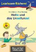 Cover-Bild zu Hotte und das Unzelfunzel / Silbenhilfe von Steinwart, Anne