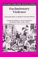 Cover-Bild zu Hoffman, Christhard (Hrsg.): Exclusionary Violence