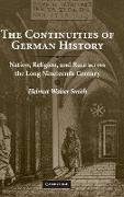 Cover-Bild zu Smith, Helmut Walser: The Continuities of German History