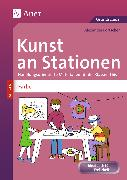 Cover-Bild zu Kunst an Stationen Spezial Farbe von Portscher, Alexander