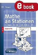 Cover-Bild zu Mathe an Stationen Spezial Geometrie 1+2 (eBook) von Donat, Carolin
