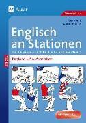 Cover-Bild zu Englisch an Stationen England, USA, Australien von Nink, Wibke