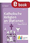 Cover-Bild zu Katholische Religion an Stationen 3-4 Inklusion (eBook) von Hauch, Anna