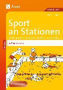 Cover-Bild zu Sport an Stationen Spezial Schwimmen von Ellinger, Ivonne