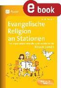 Cover-Bild zu Evangelische Religion an Stationen (eBook) von Kraus, Sandra