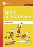 Cover-Bild zu Sport an Stationen Spezial Leichtathletik 1-4 von Sommer, Markus
