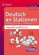 Cover-Bild zu Deutsch an Stationen Umgang mit dem Wörterbuch von Sommer, Sandra