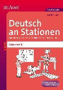 Cover-Bild zu Deutsch an Stationen Spezial Grammatik 1-2 von Knipp, Martina