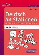 Cover-Bild zu Deutsch an Stationen Spezial Rechtschreibung 1-2 von Knipp, Martina