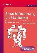 Cover-Bild zu Sprachförderung an Stationen von Kraus, Sandra
