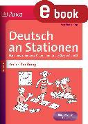 Cover-Bild zu Deutsch an Stationen Spezial Rechtschreibung 1-2 (eBook) von Knipp, Martina