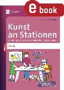 Cover-Bild zu Kunst an Stationen Spezial Farbe (eBook) von Portscher, Alexander