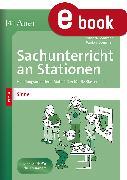 Cover-Bild zu Sachunterricht an Stationen Spezial Sinne (eBook) von Sommer, Sandra