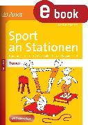 Cover-Bild zu Sport an Stationen SPEZIAL Turnen 1-4 (eBook) von Sommer, Markus