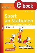 Cover-Bild zu Sport an Stationen Spezial Leichtathletik 1-4 (eBook) von Sommer, Markus