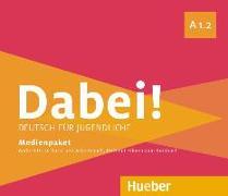 Cover-Bild zu Dabei! A1.2 - Deutsch als Fremdsprache / Medienpaket von Kopp, Gabriele
