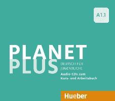 Cover-Bild zu Planet Plus A1.1. 2 Audio-CDs zum Kursbuch, 1 Audio-CD zum Arbeitsbuch von Kopp, Gabriele