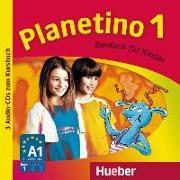 Cover-Bild zu Planetino 1. 2 Audio-CDs von Büttner, Siegfried