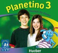 Cover-Bild zu Planetino 3. Audio-CDs zum Kursbuch von Kopp, Gabriele