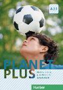 Cover-Bild zu Planet Plus A2.1. Deutsch für Jugendliche. Deutsch als Fremdsprache. Arbeitsbuch von Kopp, Gabriele