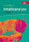 Cover-Bild zu Inhaltsanalyse von Rössler, Patrick