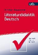 Cover-Bild zu Literaturdidaktik Deutsch von Dawidowski, Christian