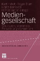 Cover-Bild zu Mediengesellschaft von Blum, Roger (Hrsg.)