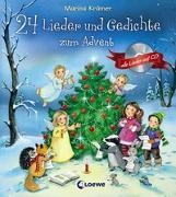 Cover-Bild zu 24 Lieder und Gedichte zum Advent von Krämer, Marina (Illustr.)