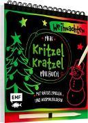 Cover-Bild zu Mein Kritzel-Kratzel-Malbuch - Weihnachten