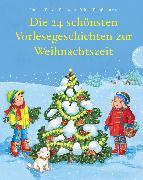 Cover-Bild zu Die 24 schönsten Vorlesegeschichten zur Weihnachtszeit von Funke, Cornelia