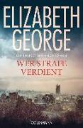 Cover-Bild zu Wer Strafe verdient von George, Elizabeth