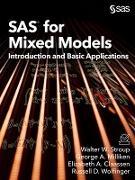 Cover-Bild zu SAS for Mixed Models (eBook) von Stroup, Walter W.