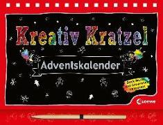 Cover-Bild zu Kreativ-Kratzel-Adventskalender von Loske, Judith (Illustr.)