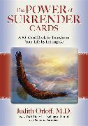 Cover-Bild zu The Power of Surrender Cards von Orloff, Judith