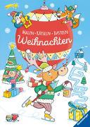 Cover-Bild zu Malen - Rätseln - Basteln: Weihnachten von Peikert, Marlit