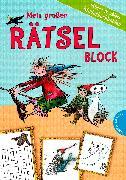 Cover-Bild zu Mein großer Rätselblock - Otfried Preußlers Kinderbuchhelden von Preußler, Otfried