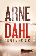 Cover-Bild zu Sieben minus eins von Dahl, Arne