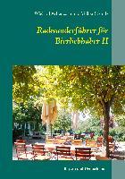 Cover-Bild zu Radwanderführer für Bierliebhaber II von Achenbach, Wieland