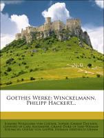 Cover-Bild zu Goethes Werke. 46. Band von Johann Wolfgang von Goethe