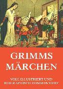 Cover-Bild zu Grimms Märchen (eBook) von Grimm, Gebrüder