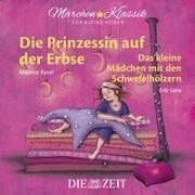 Cover-Bild zu Die Prinzessin auf der Erbse und Das kleine Mädchen mit den Schwefelhölzern - Die ZEIT-Edition von Grimm, Brüder