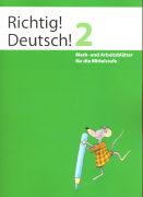 Cover-Bild zu Richtig! Deutsch! 2. Merk- und Arbeitsblätter von Winkelmann, Andreas