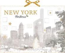 Cover-Bild zu Wand-Adventskalender - New York Christmas von Cawley, Julia (Fotogr.)