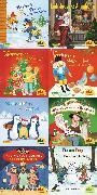 Cover-Bild zu Pixi-Weihnachts-Box 34: ABC, Pixi lief im Schnee (8x8 Exemplare) von diverse