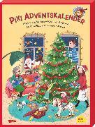 Cover-Bild zu Pixi Adventskalender mit Weihnachtsbaum 2019 von diverse