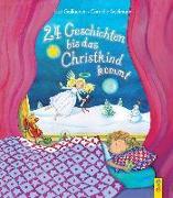 Cover-Bild zu 24 Geschichten, bis das Christkind kommt von Gallauner, Lisa