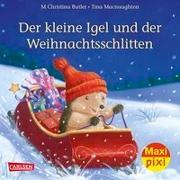 Cover-Bild zu Maxi-Pixi Nr. 239: VE 5 Der kleine Igel und der Weihnachtsschlitten von Butler, M Christina