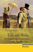 Cover-Bild zu Göttert, Karl-Heinz: Eile mit Weile