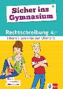 Cover-Bild zu Klett Sicher ins Gymnasium Rechtschreibung 4. Klasse (eBook) von PONS GmbH (Hrsg.)